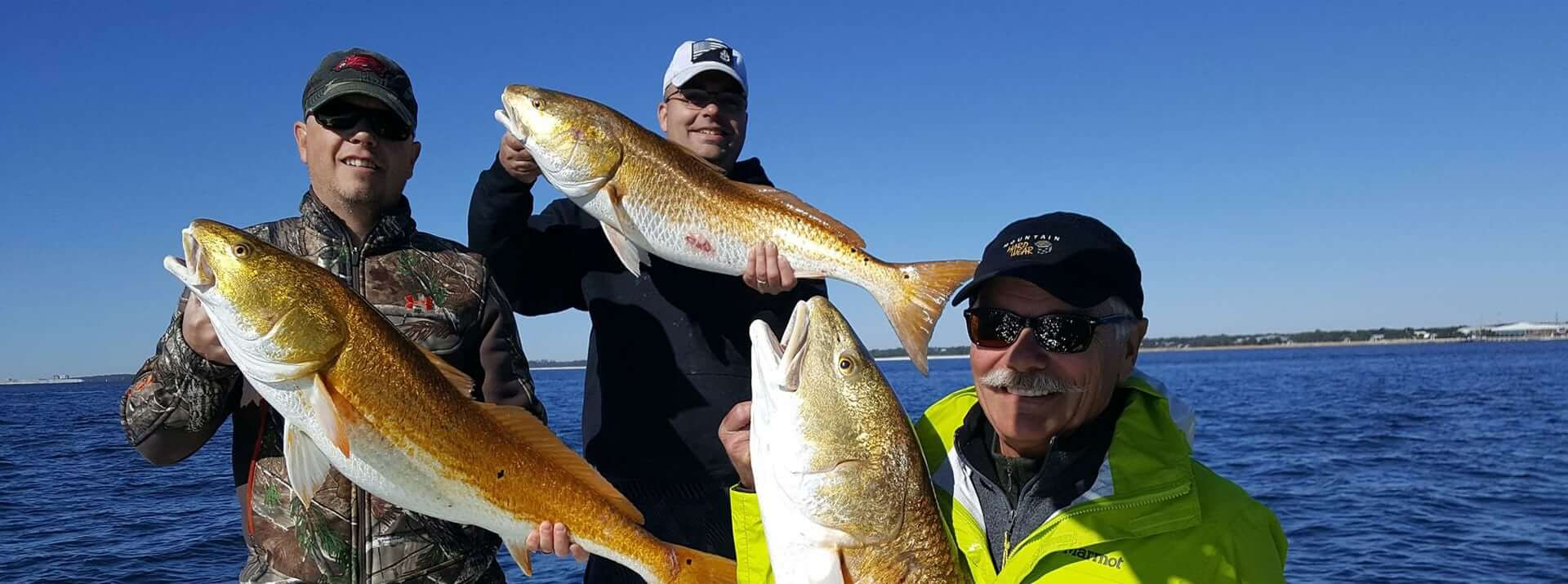 Pensacola fishing charter with Capt Doug Adams